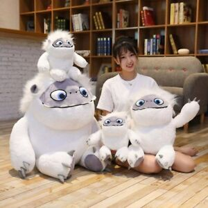 Abominable Plush Toys Anime TV Show Stuffed Animal White Yeti Monster For Kids