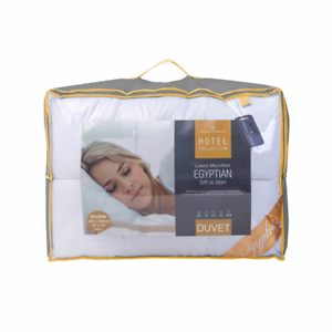 Microfibre Luxury Hotel Collection Duvet Quilt 13.5 tog Single Double King S Kng