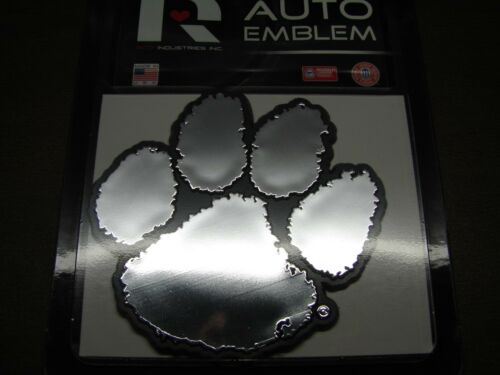 NCAA Clemson Tigers Chrome Automobile Emblem