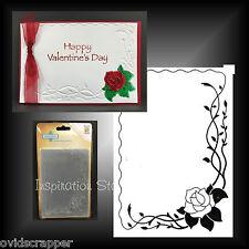 ROSE FRAME embossing folder NELLIE SNELLEN flowers embossing folders VINF003