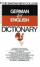 Bantam New College German/English Dictionary by John C. Traupman (1984, Paperback)