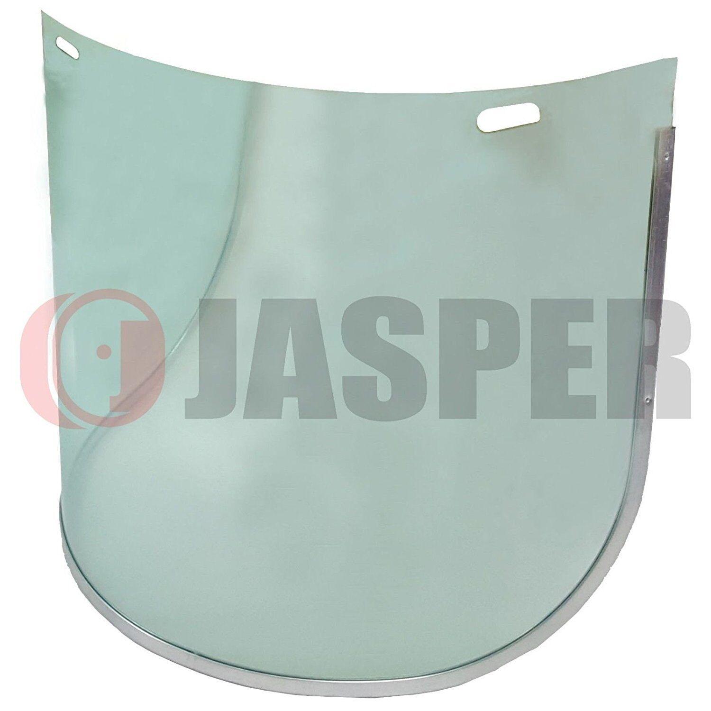 1\4 x Jasper Browguard Face Shield Clear Visor Ear Muffs ANSI Z87.1 CE EN1731