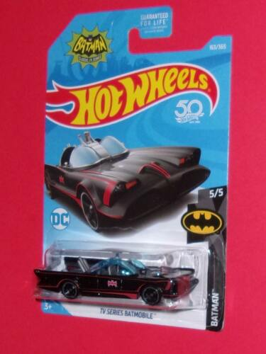 2018 Hot Wheels TV Series Batmobile adam west #163 BATMAN FJX34-D9C0G G CASE