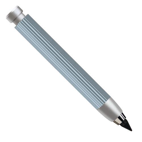 gris Y Negro WörtherWorther Profil Lápices mecánicos de Aluminio en Plata