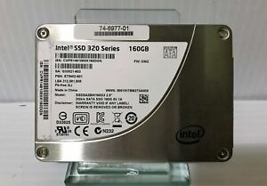 "160GB SSD 2.5/"" Intel 320 Series SATA II MLC 3Gb//s Solid State Drive"