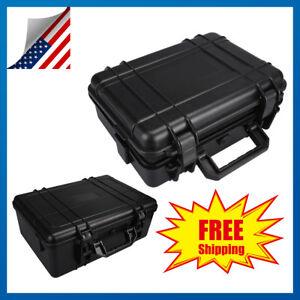 Weatherproof-Hard-Flight-Case-Dry-Box-For-DSLR-HD-Camera-w-Foam-Shoulder-Strap