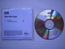 AIR - Alpha Beta Gaga (91 BPM Edit) (Mark Ronson Remix Edit) PROMO COPY DJ CD