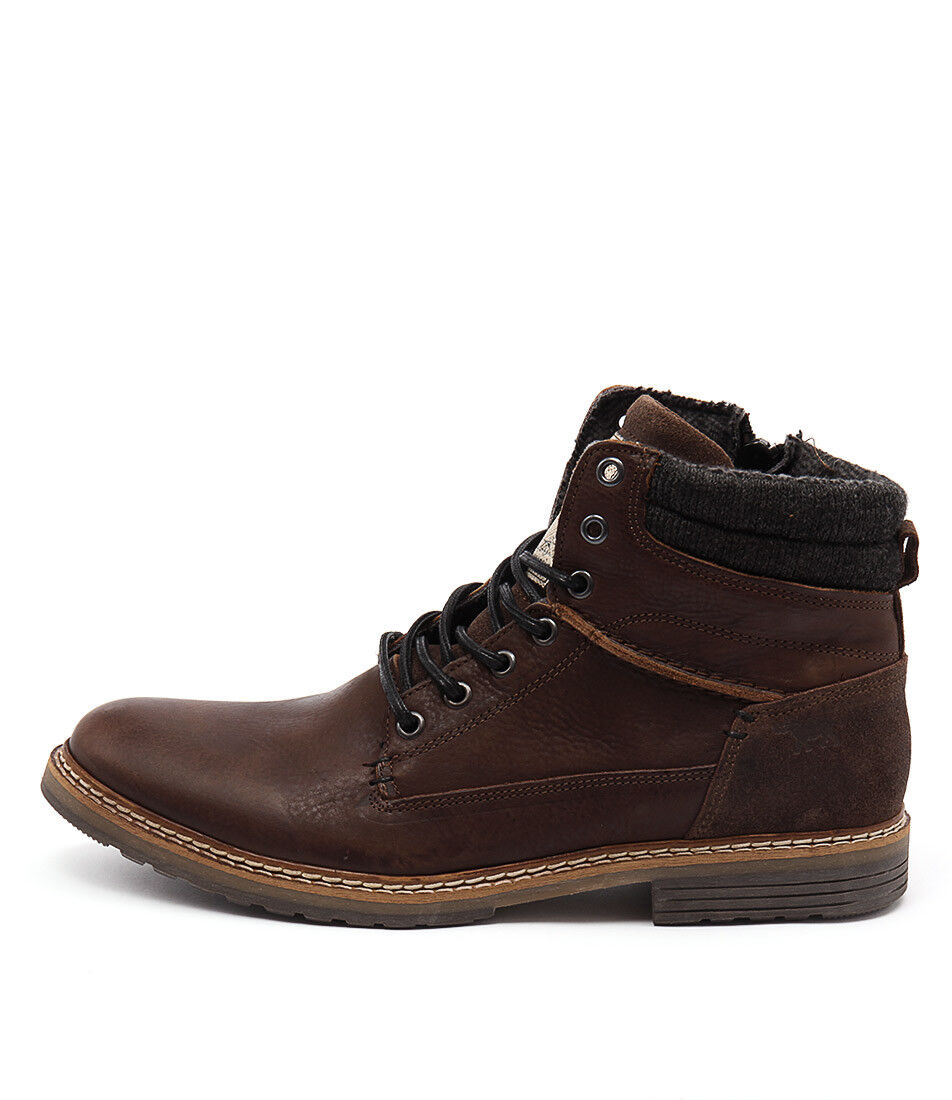 New Wild Rhino Nevada Wr Brown Mens shoes Casual Boots Ankle