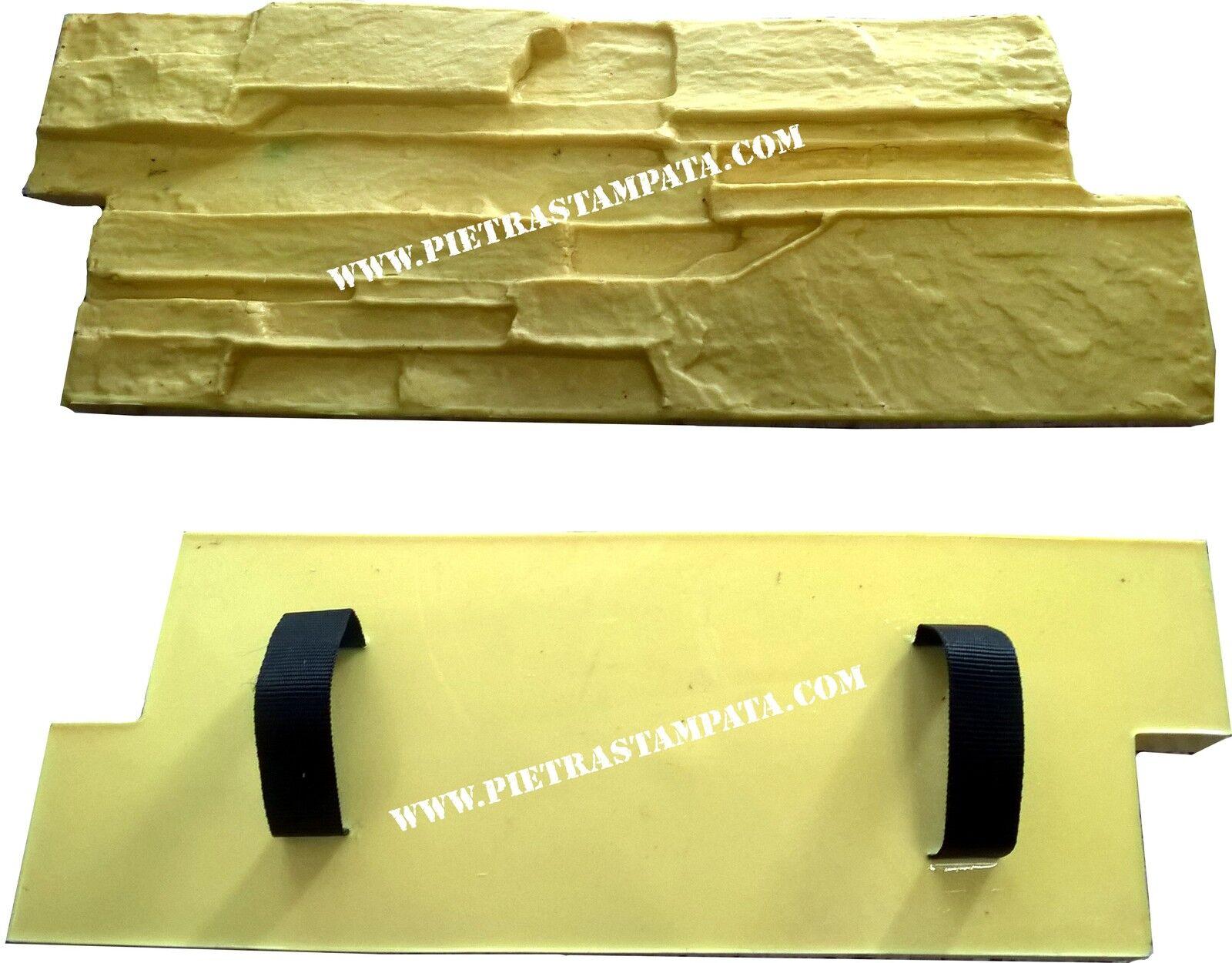 Polyurethan Stempel, für Grünikale und horizontale dekorative Beton Gips Textur
