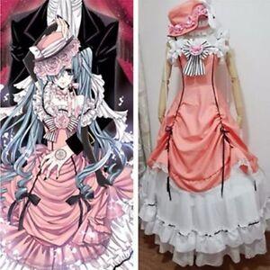 76806aa9f Image is loading Kuroshitsuji-Black-Butler-Ciel-Phantomhive-Cosplay-Costume -Set-