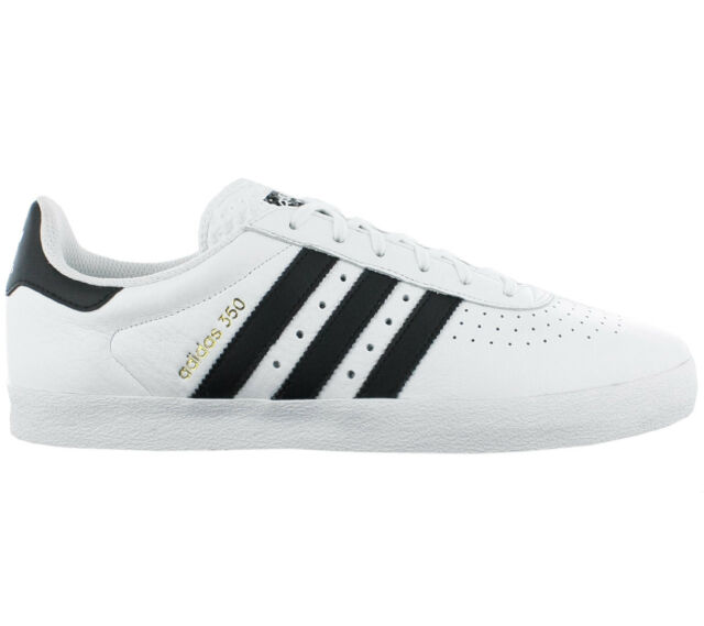 ddc533dbe9ff14 Adidas Men s Sneakers 350 Originals Shoes White Leather Sneakers Leisure  Y9762