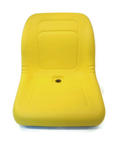 Yellow HIGH BACK Seat for John Deere Gator TX  TX 4x2  TX Turf  TX 4x2 Turf UTV