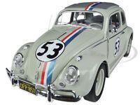 Elite 1963 Volkswagen Beetle the Love Bug Herbie 53 1/18 By Hotwheels Bcj94