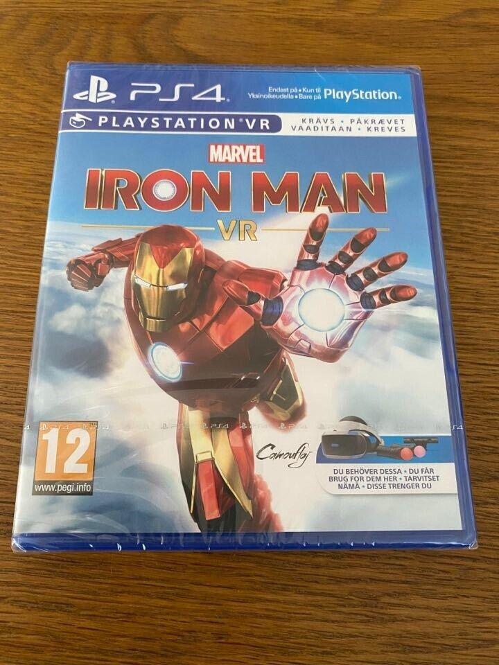 Playstation 4, Marvel's Iron Man PS VR spil