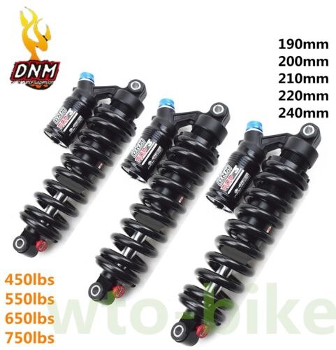 DNM Shock Mountain Downhill Bike Rear  550 lbs Rcp-3 ebike190//220//210//220//240 mm
