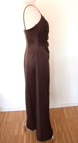 Langes Braun Ambiance Abendkleid Kleid 38 Gr PqqdaHw