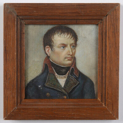 Dream-art Oil painting Male portrait Napoleon as first consul in Red with Sword