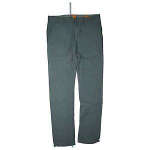 HUGO-BOSS-Herren-Chino-Hose-slim-fit-stretch-Stoffhose-32-34-W32-L34-Grau-TOPap2