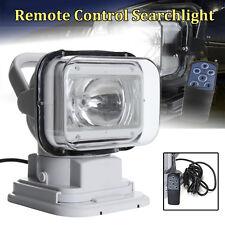 55W LED Marine Boat Remote Control Searchlight Spotlight Truck Car Light Bulb