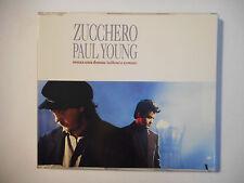 ZUCCHERO feat. PAUL YOUNG : SENZA UNA DONNA ♦ CD SINGLE ITALIE PORT GRATUIT ♦