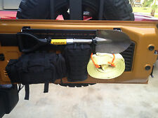 """JK tailgate fold down MOLLE panel """"now with rubber grommets to prevent rattle"""""""