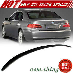 IN STOCK USA Unpaint BMW 7-Series E65 4D M3-Look Trunk Spoiler 2002-2005 ABS