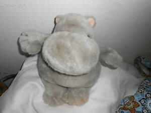 "carousel by guy 1983 vintage lovey eden valley plush chubby chunky 11"" grey gray"