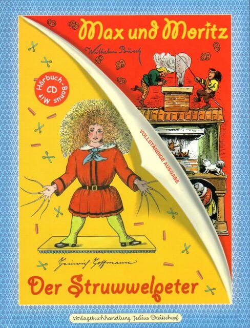 Hörbuch * Wilhelm Busch * Max und Moritz * Struwelpeter *** NEU * 9783700440693