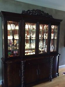 Thomasville Dining Room Lighted Hutch Ebay