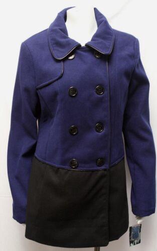 Colorblock Nye Peacoat Blue L Madden Women's Black Jakkecoat Steve Sz SqwfPO