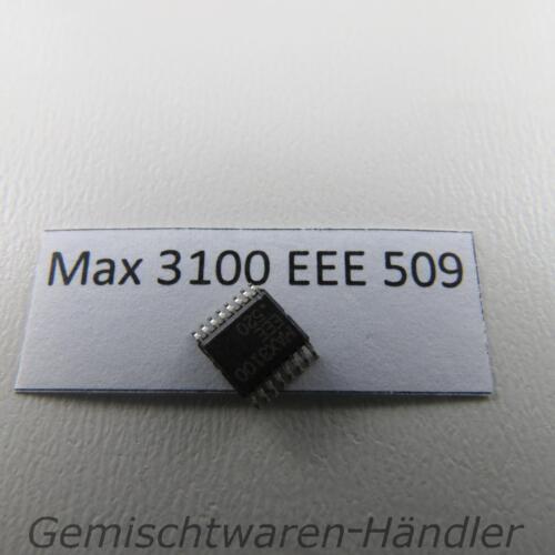 IC MAX 3100 EEE 509 Maxim Bus-Trasmettitore Ricevitore SPI UART QSOP 16 RS 232 485 IrDA