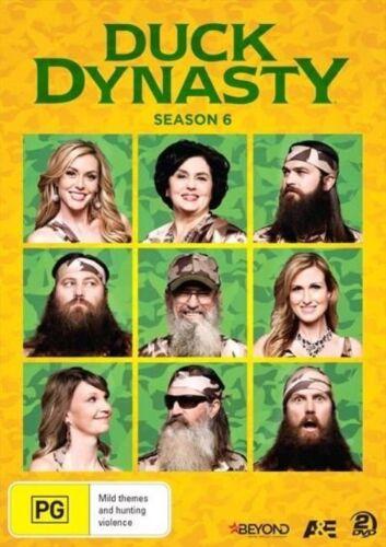 1 of 1 - Duck Dynasty : Season 6 (DVD, 2014, 2-Disc Set) 'LIKE NEW'