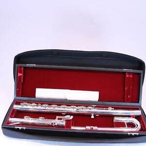 Jupiter-Model-JBF1000-Bass-Flute-SN-YD00744-DISPLAY-MODEL-PERFECT