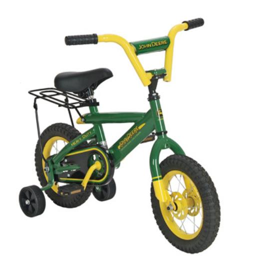John Deere 12 in (environ 30.48 cm) Vert & Jaune Vélo   Tbek 34938