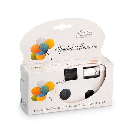 Appareils photo jetables avec flash Blanc avec ballon Design
