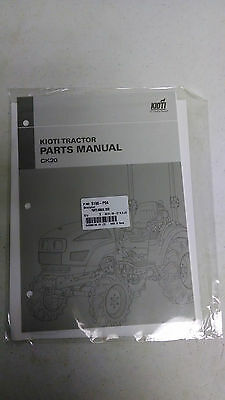 Kioti CK20 Parts Manual