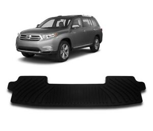 2008 2013 Highlander Floor Mat All Weather 3rd Row 1pc Toyota