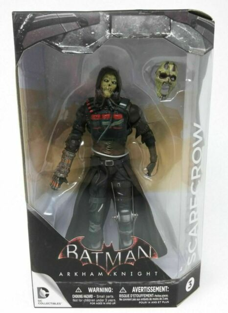 Arkham Knight Scarecrow 7 Inch Action Figure DC Collectibles Comics W18