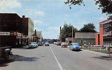 A70/ Amherstburg Canada Postcard Ontario Chrome Richmond Street Stores 1958