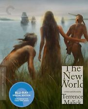 CRITERION COLLECTION : THE NEW WORLD - BLU RAY - Region A - Sealed