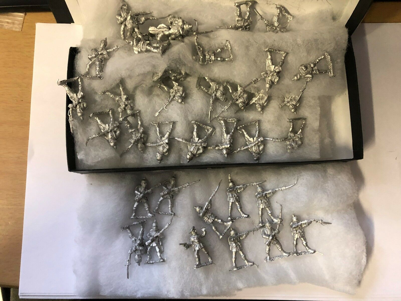 BHGW3 BHGW3 BHGW3 - WWI EARLY WAR GERMAN HORDE - FOUNDRY MINIATURES - A bd0d8e