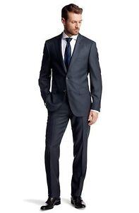 Hugo-Boss-Selection-Gilbert-Tower-Black-Navy-Charcoal-Gray-Suit-38-40-42-44-44L