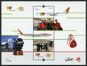 Portugal-Aviation-Stamps-2020-MNH-Tap-Air-75-Years-Aircraft-1v-M-S