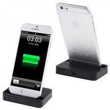 Ladestation Dockingstation für Apple iPhone 6 4.7 6 Plus 5.5 Schwarz Laden Neu