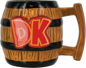 Super-Mario-PP4008NN-Donkey-Kong-Shaped-Mug-NEW-BOXED