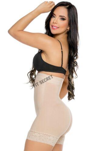 Faja Colombiana Levanta Cola Strapless High Waisted Control Butt Lift BBL Short
