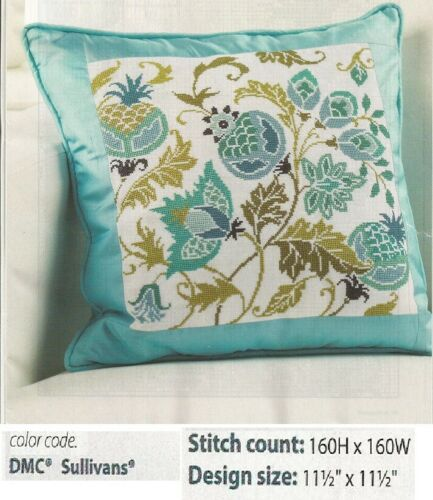WINTER TAPESTRY PILLOW  CROSS STITCH PATTERN ONLY