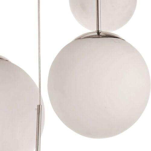 RGB DEL changement de couleur Luminaire suspendu résidentiels Chambre Lampe Verre Boules Télécommande
