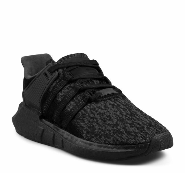 the best attitude 5cbf9 a1db0 Adidas Originals EQT Support 93/17 Boost Men's Shoes Triple Black BY9512  (NEW)