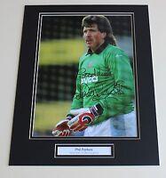 PHIL PARKES West Ham United HAND SIGNED Autograph Photo Mount Memorabilia + COA